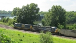 Am's Mobile Coal Train--CSX AC units power a loaded coal train south toward Mobile from a Walter Energy loadout.
